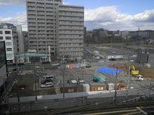 東岡崎駅ペデストリアンデッキ築造工事(その1)