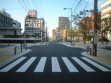 道路改良工事(康生通)