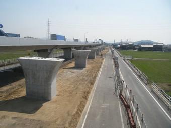 平成25年度 23号岡崎BP藤井高架橋東下部工事
