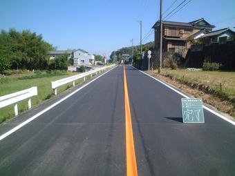 舗装道修繕工事